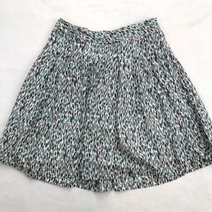 Banana Republic Light & Airy A-Line Dot Skirt